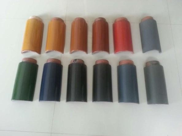 仿古瓦,筒瓦的各种颜色